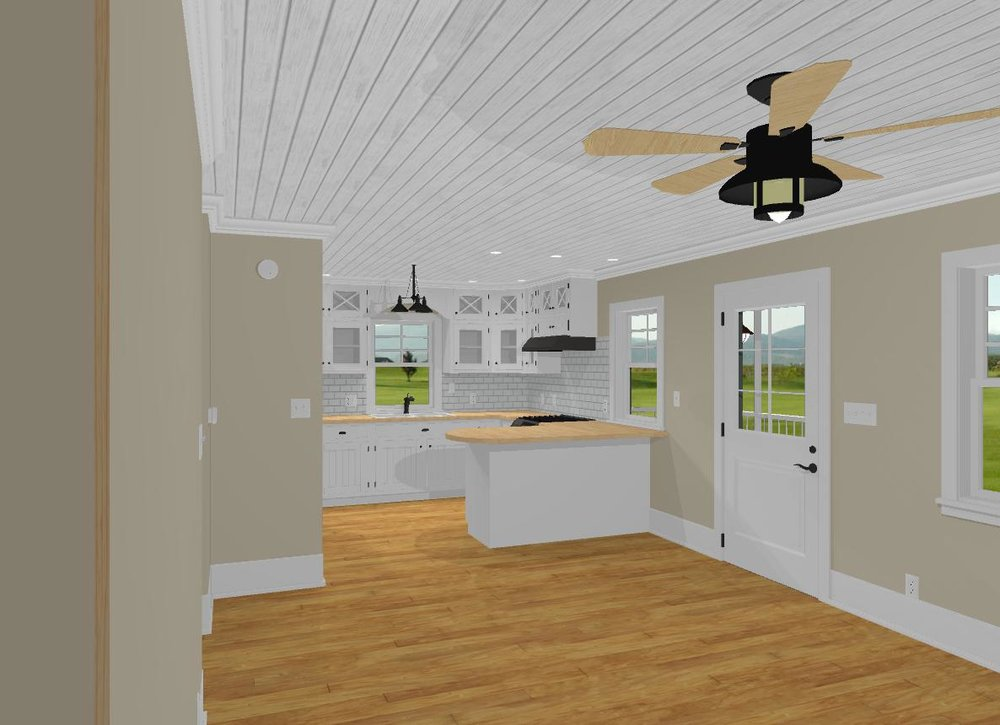 Concept Kitchen View