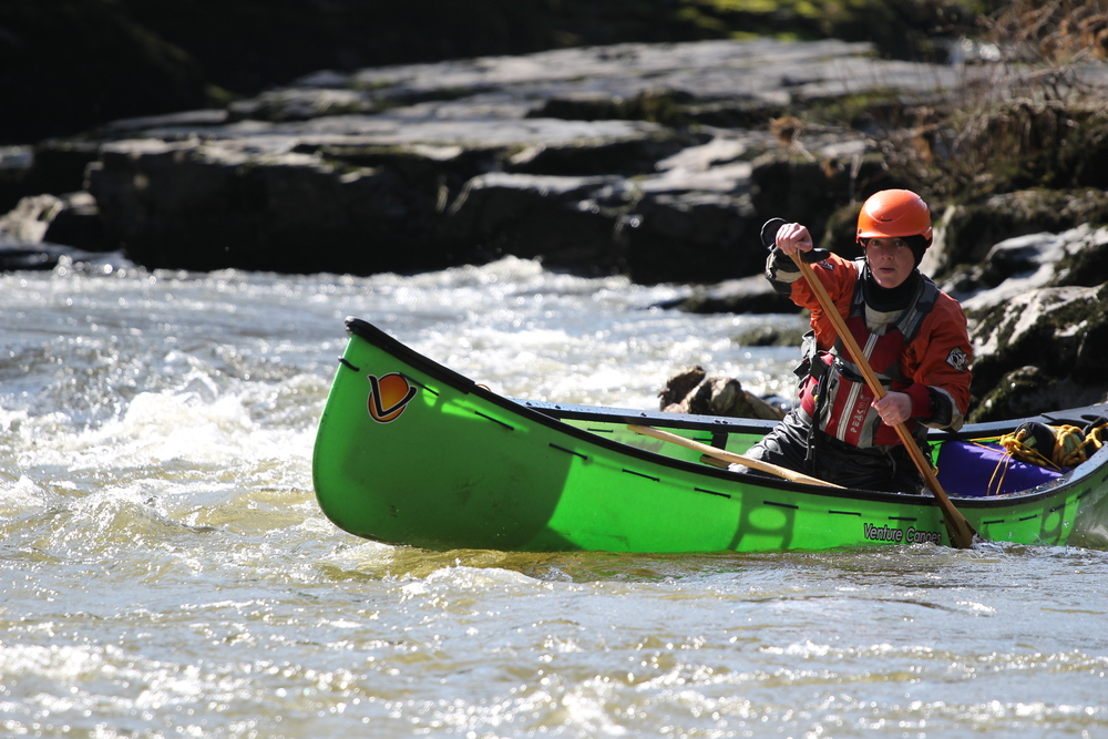 Jess Evans, Rafter, Canoeist and positive role model in the sport
