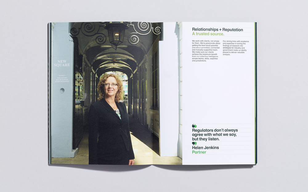 Graduate recruitment campaign and brochure