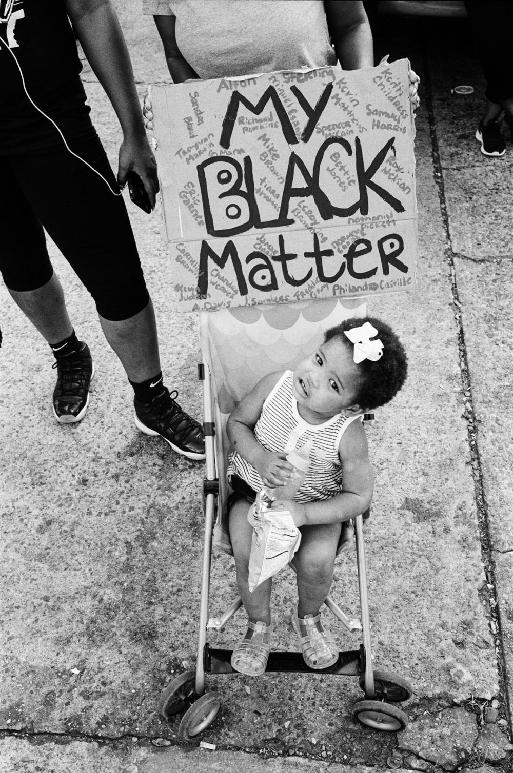 """My black matter."""