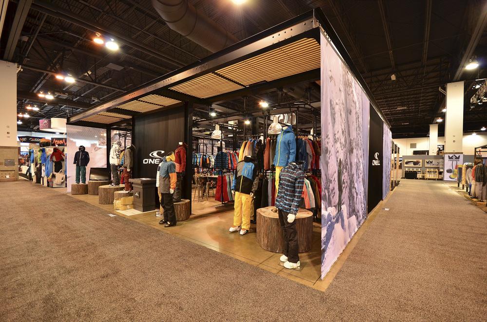 Exhibition Booth Supplier Sia : O neill trade show booth sia denver colorado — idx