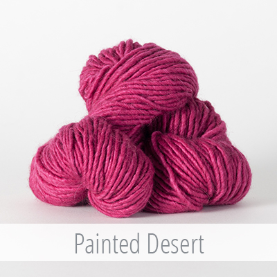 The Fibre Company's Organik in Painted Desert