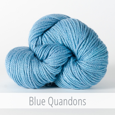The Fibre Company's Canopy Worsted in Blue Quandons
