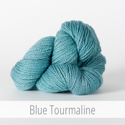 The Fibre Company's Road to China Light in Blue Tourmaline
