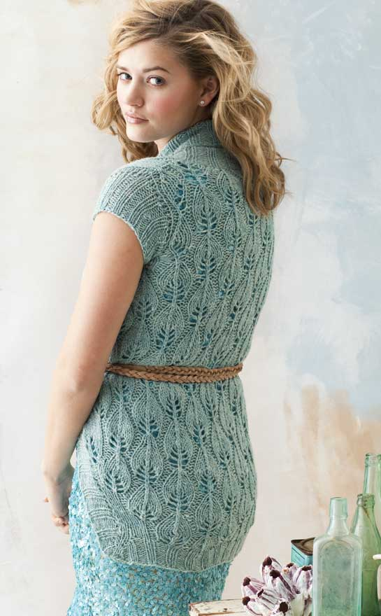 Vogue Knitting Patterns For Sweaters : Vogue Knitting Spring/Summer 2011: #28 Lace Cardi