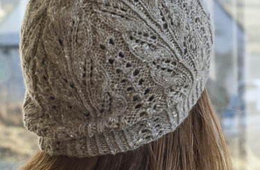 Knitting Pattern For Lace Hat : Knitter Projects: Driftwood Lace Hat