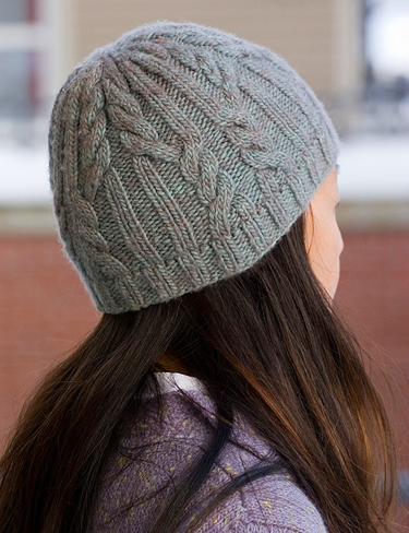 Knitter Projects  Utopia Cabled Hat 9f8a76a0186
