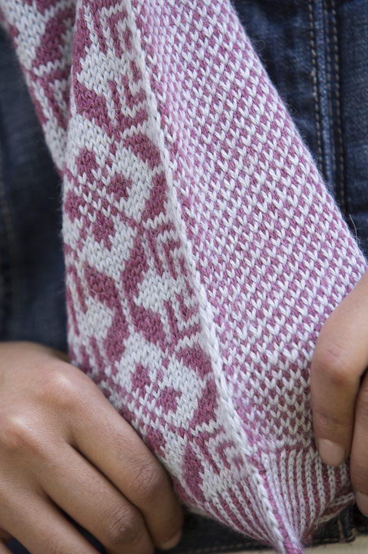 New Knitting Pattern Books : Scarf Style 2: Sylvie   Kelbourne Woolens