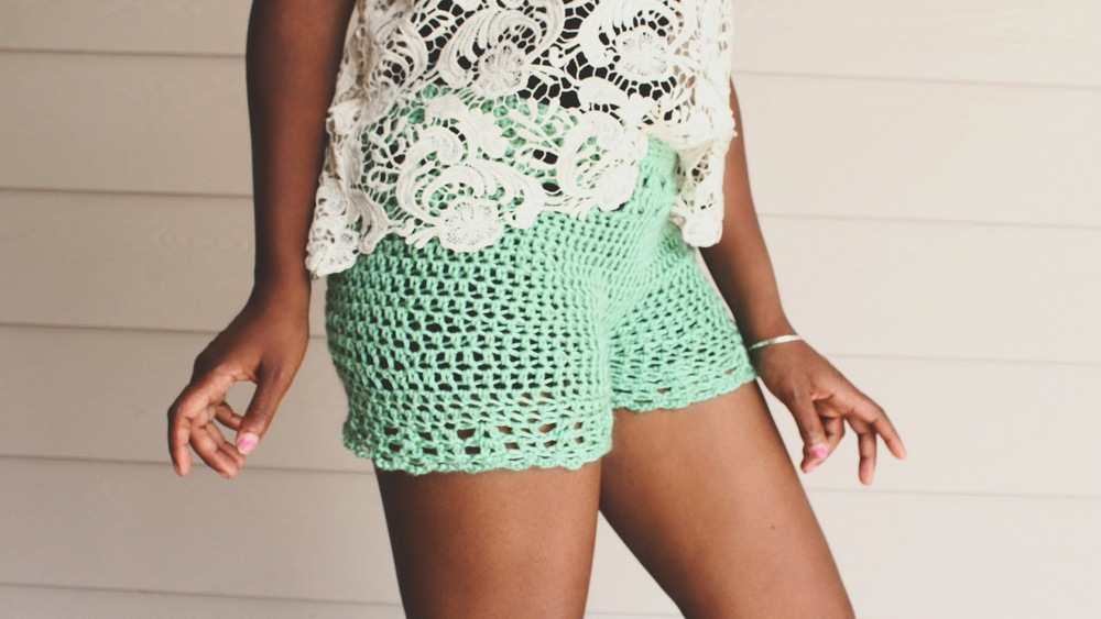 The Sunday Crochet Biker Shorts