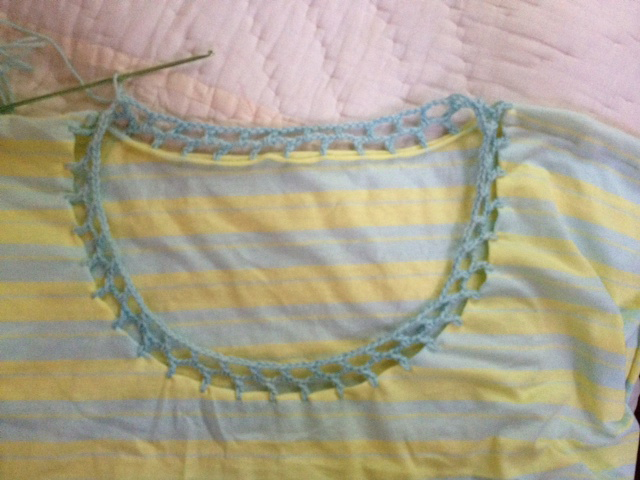 #crochetsummer2014 Cal Patch T-Shirt Tutorial II Kelbourne Woolens