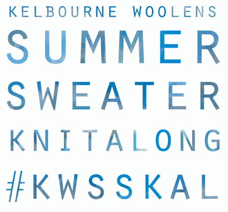 Kelbourne Woolens Summer Sweater Knitalong