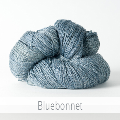 The Fibre Company's Meadow in Bluebonnet, distributed by Kelbourne Woolens