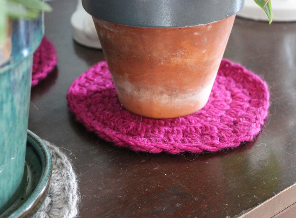 Crochet Coasters by Kate Gagnon Osborn