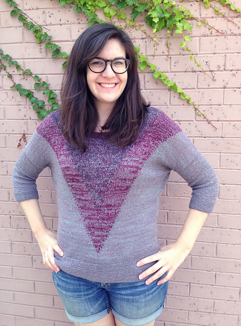 Sombra sweater in Fibre Company Meadow