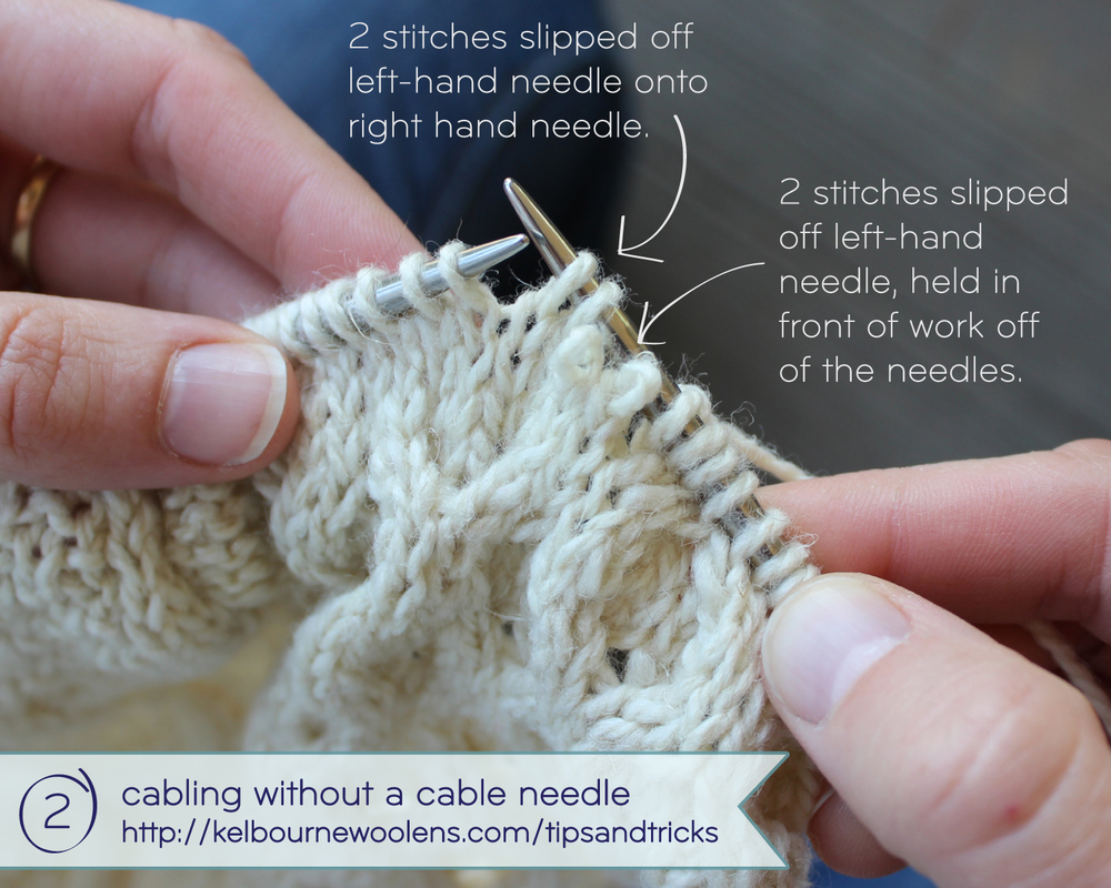 KW Tips + Tricks: Cabling without a cable needle