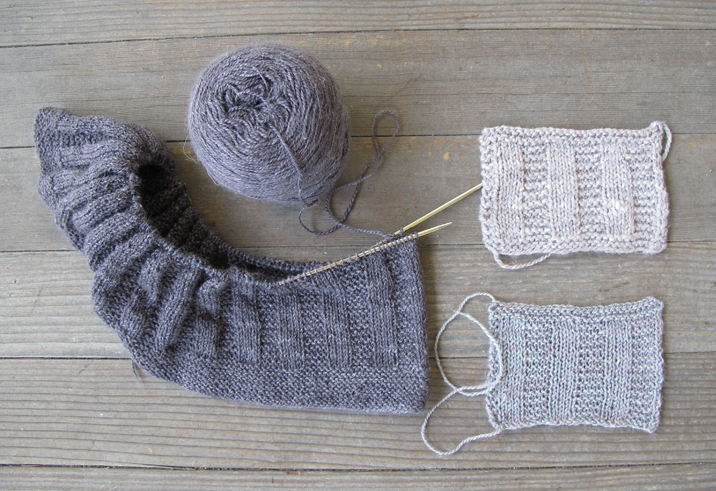 yarn substitution tutorial by Kelbourne Woolens