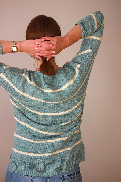 Carly sweater in Fibre Company Savannah