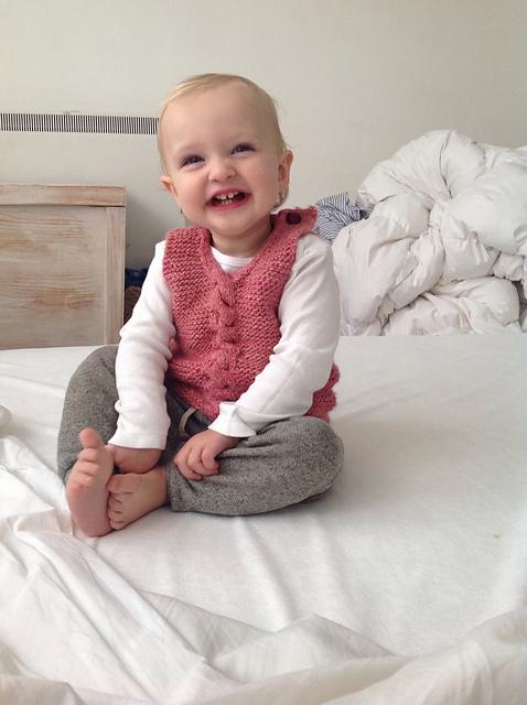Kelbourne Woolens Baby Vest
