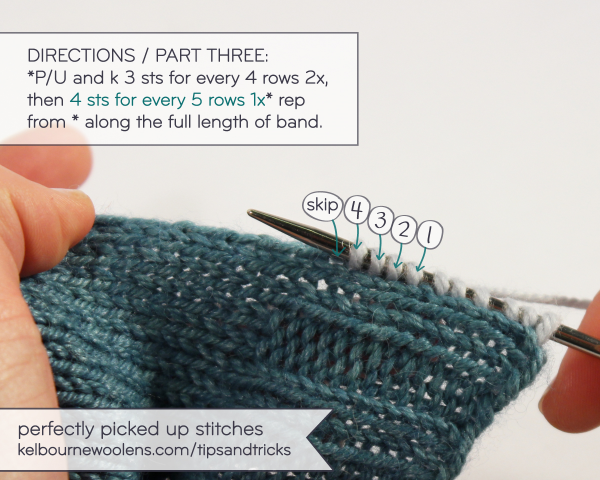 KW Tips + Tricks: Picking up stitches