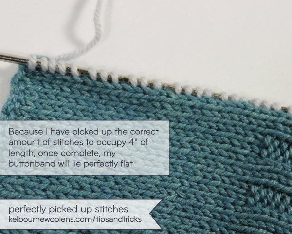 Tips + Tricks: Perfectly Picked Up Stitches   KW