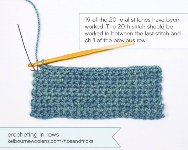 Crochet Summer 2015 / Kelbourne Woolens Tips + Tricks: Crochet in Rows