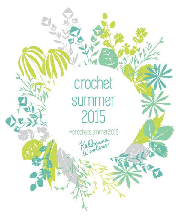 Kelbourne Woolens Crochet Summer 2015 Logo