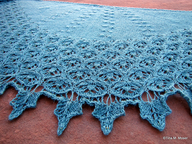 Valeriana Shawl in Road to China Lace