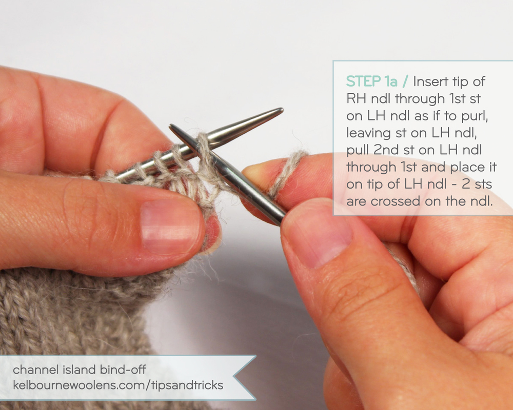 KW Tips + Tricks: Channel Island Bind Off