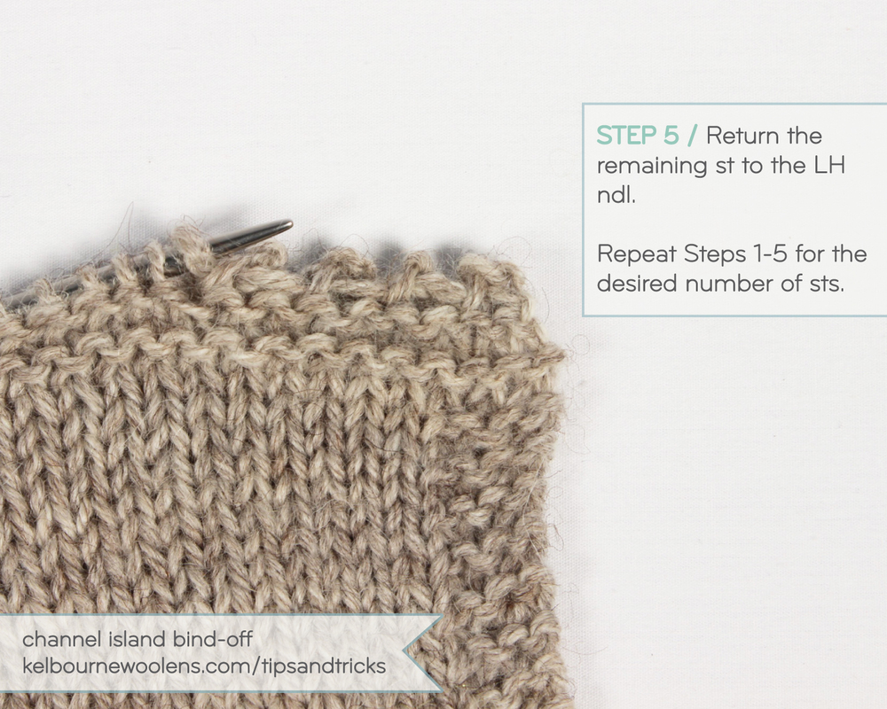 Knitting Tips By Judy Casting Off : Tips tricks channel island cast on and bind off