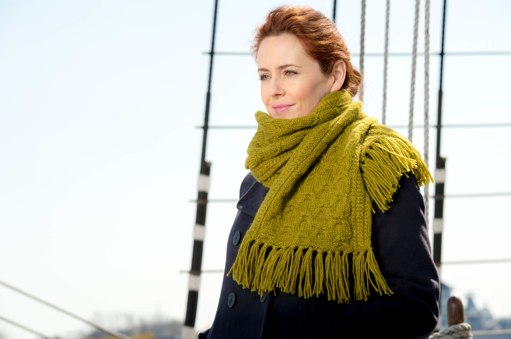 Penrith by Leah McGlone from Kelbourne Woolens featuring The Fibre Company Cumbria. Available now!