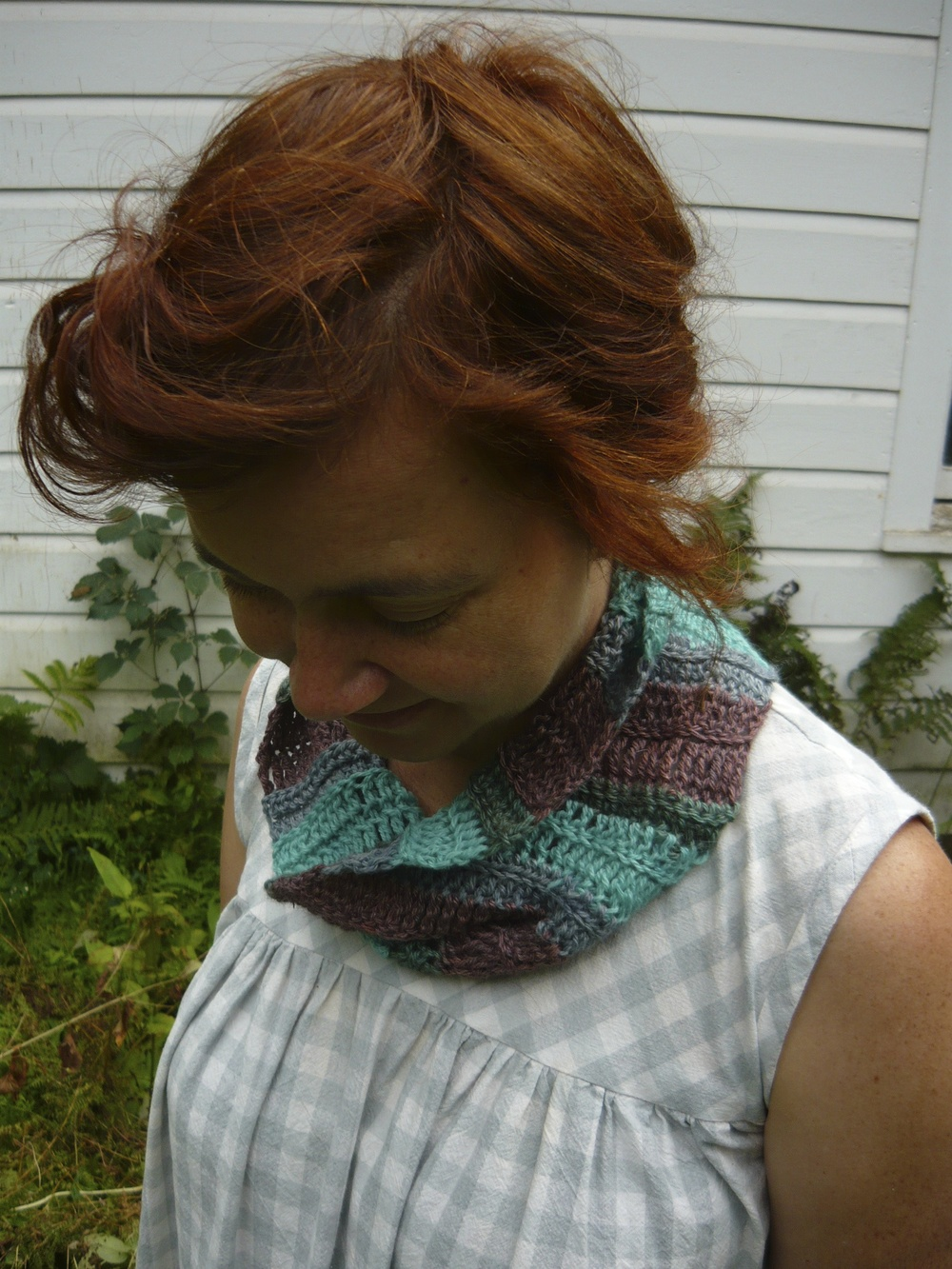 Urchin Stripe Cowl by Cal Patch