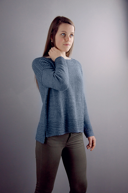 Comfy Drop Shoulder Sweater by Megan Goodacre