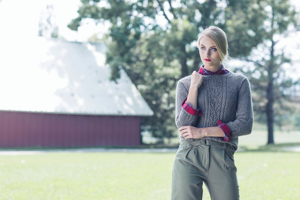 MacGowan Pullover by Quenna Lee in The Fibre Co. Knightsbridge
