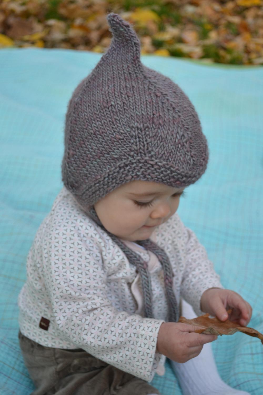 Baby Knit Hat Circular Needles Pattern