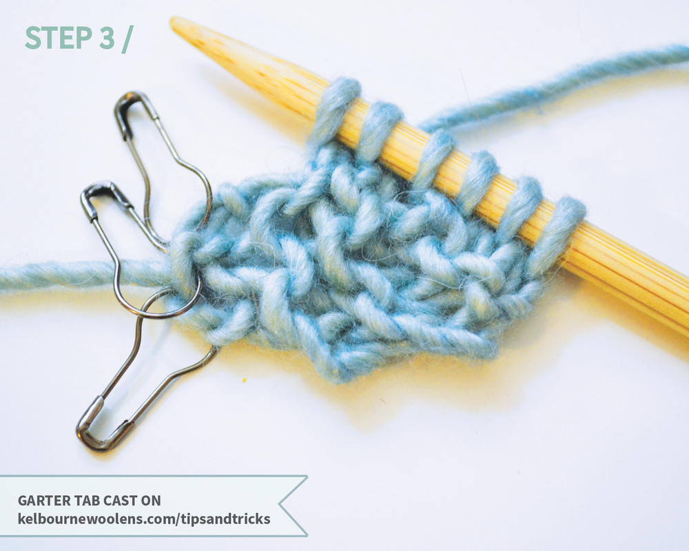 KW Tips + Tricks: Garter Tab Cast on