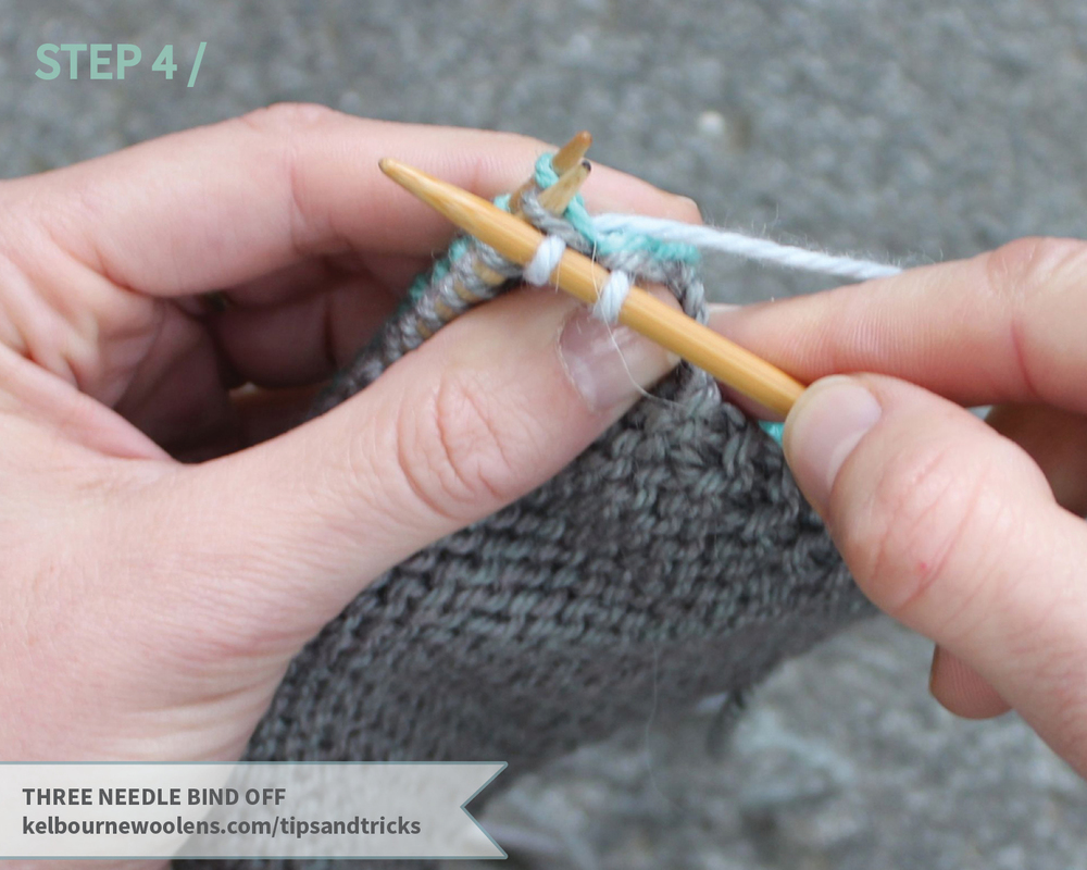 KW Tips + Tricks: three needle bind off