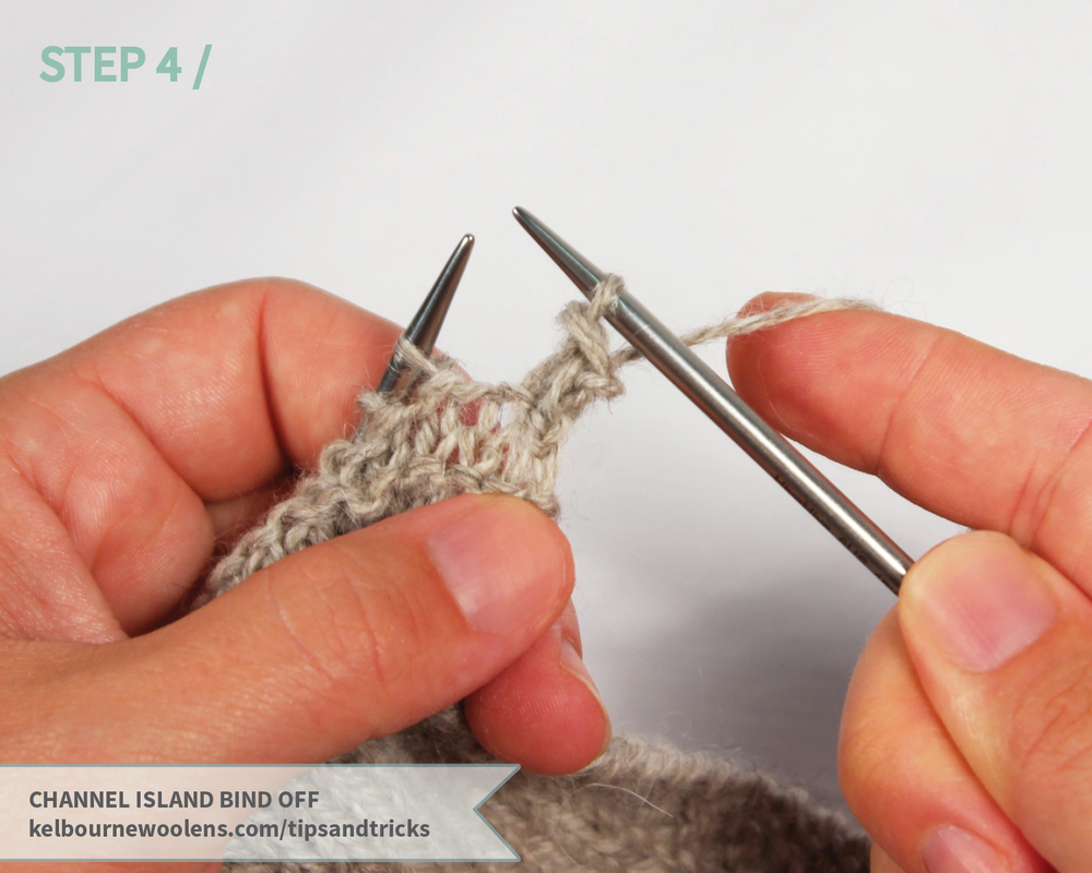KW Tips + Tricks: Channel Island Bind Off