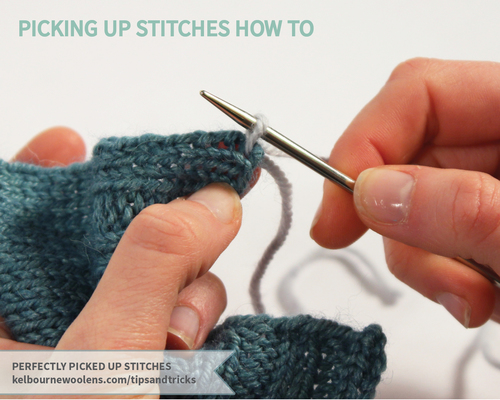 Perfectly Picked Up Stitches