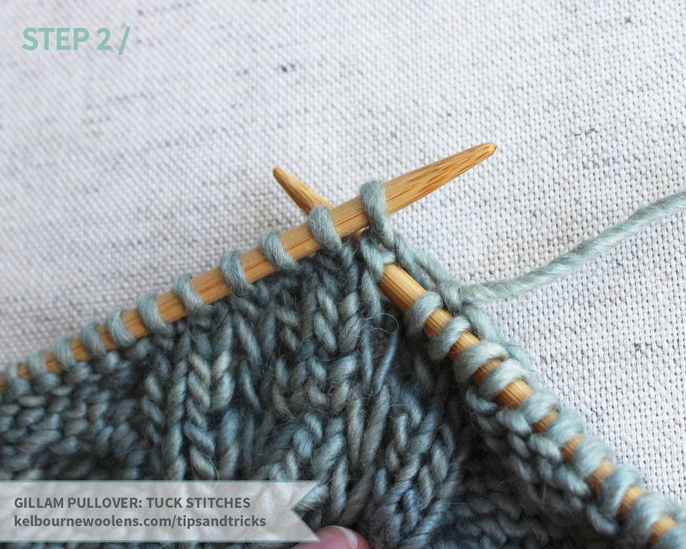 KW Tips + Tricks: Gillam Tuck Stitches