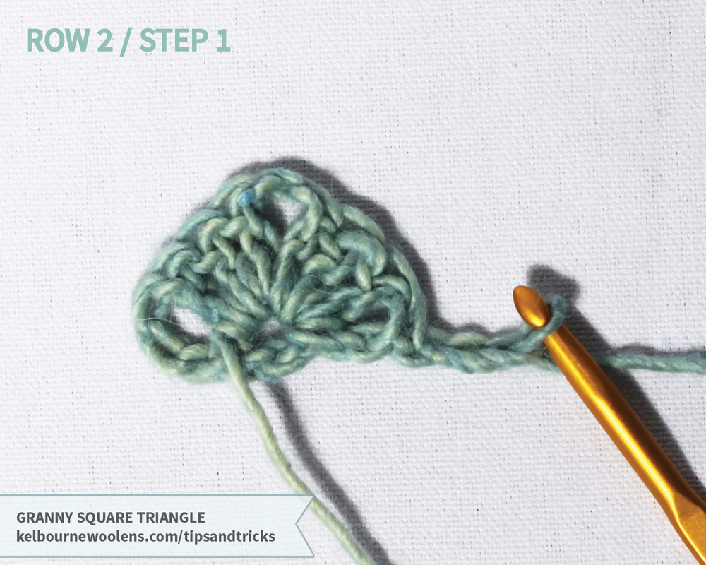 KW Tips + Tricks: Granny Square Triange