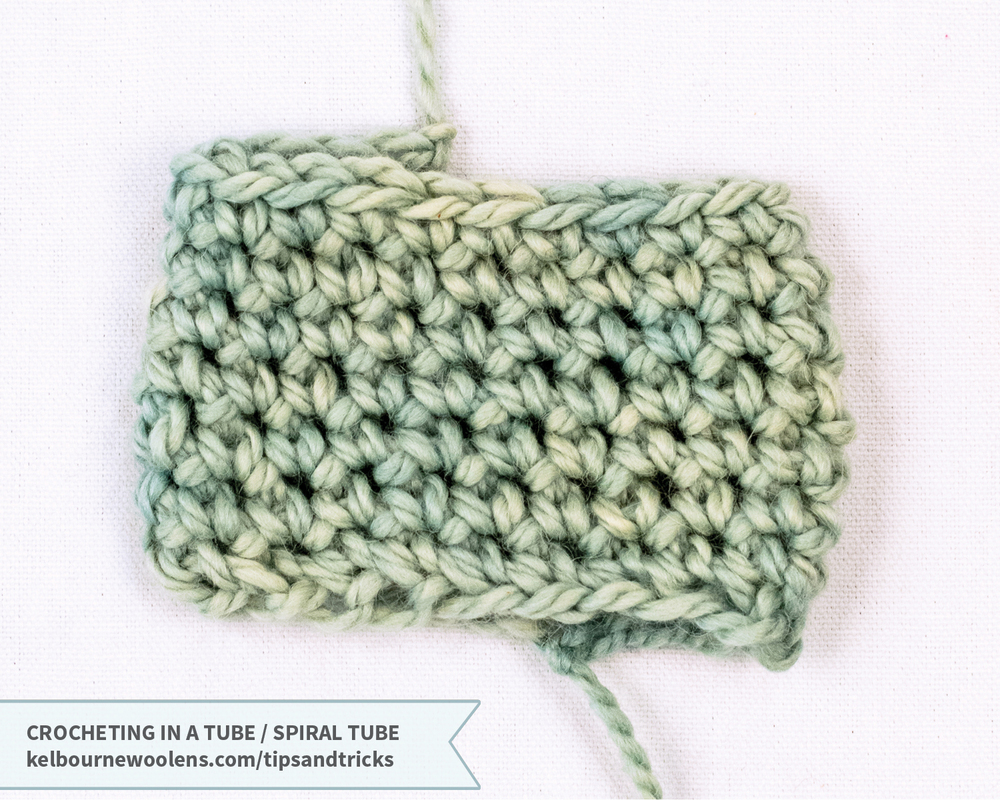 KW Tips and Tricks: Crocheting in a Tube / Spiral