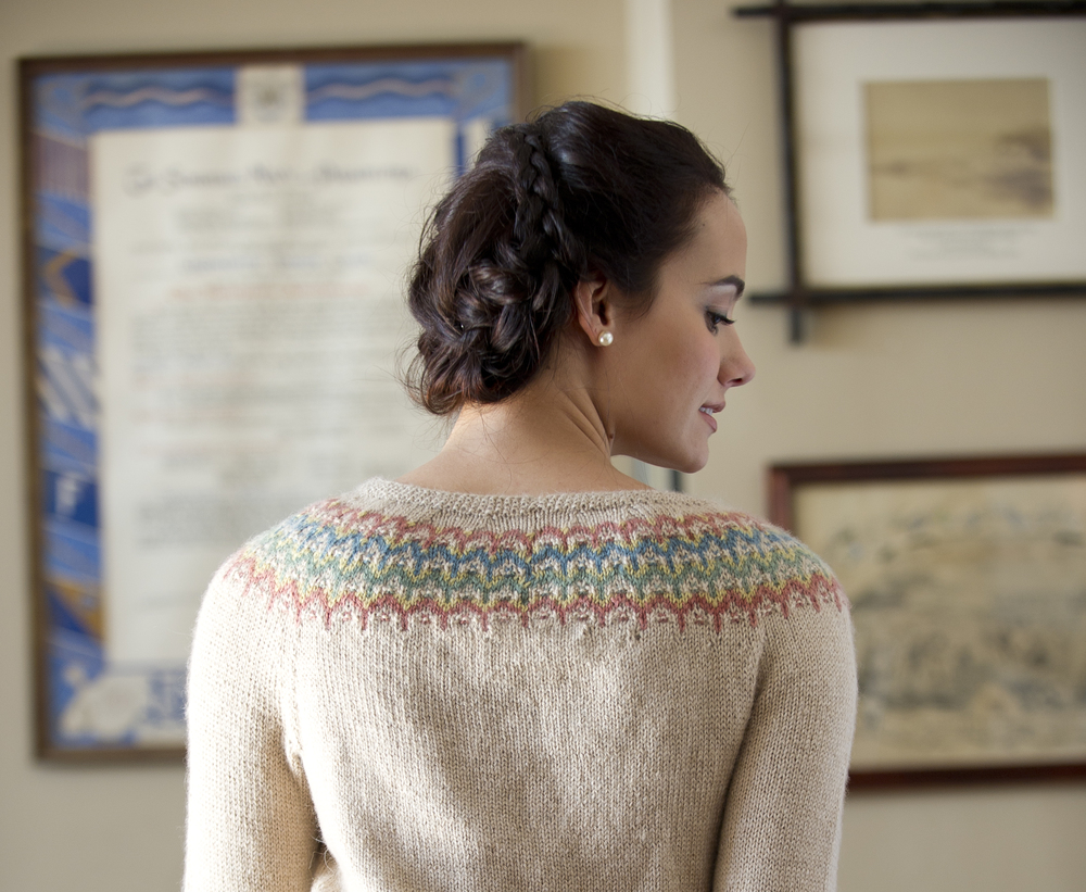 Juno Bohus Sweater by Courtney Kelley