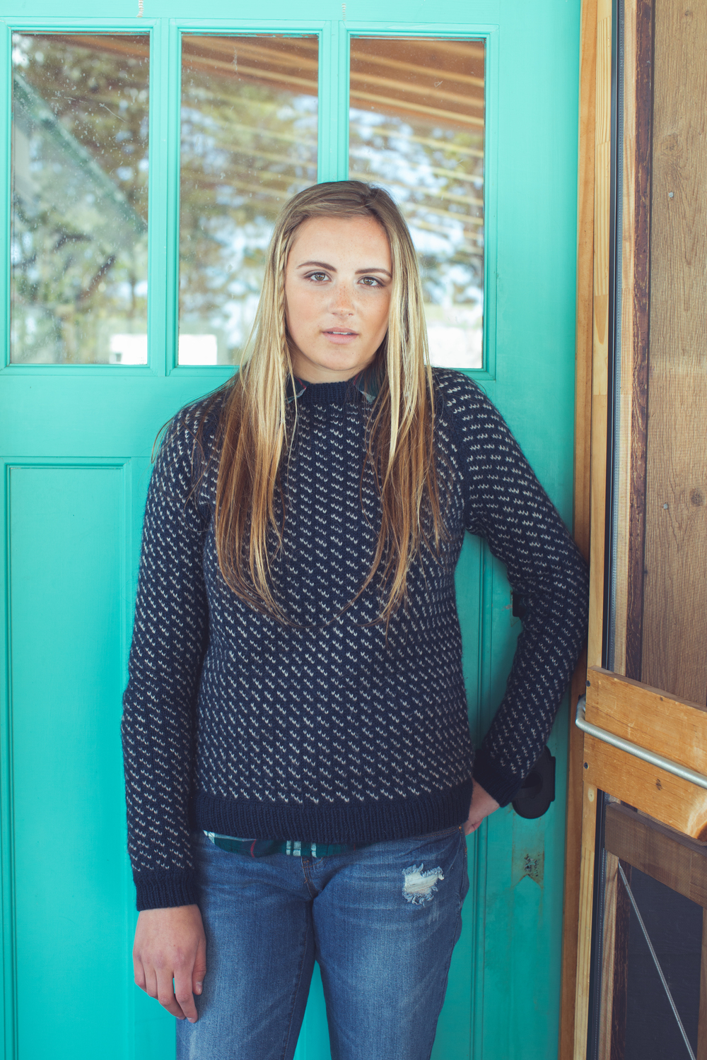 Rahwah Pullover by Kate Gagnon Osborn