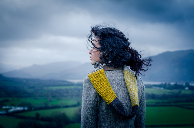 Brenna by Emma Wright in The Fibre Co. Cumbria