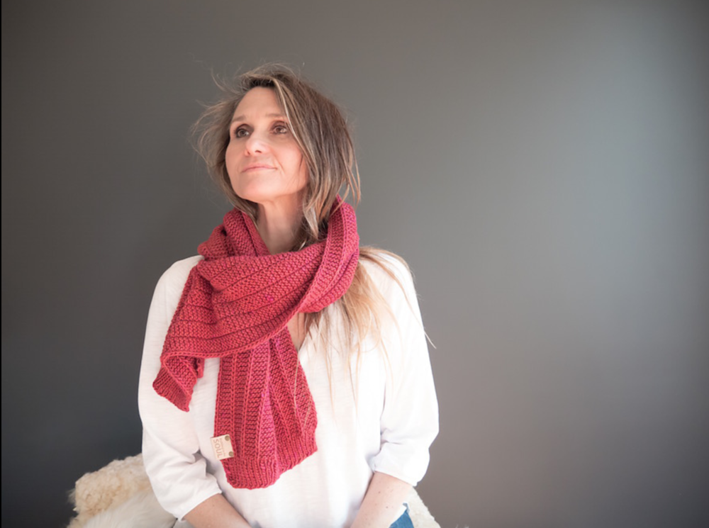 Soul Scarf No. 3 in The Fibre Co. Terra