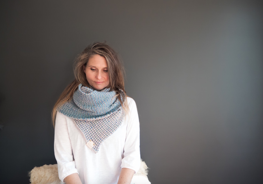 Soul Scarf No. 2 in The Fibre Co. Terra