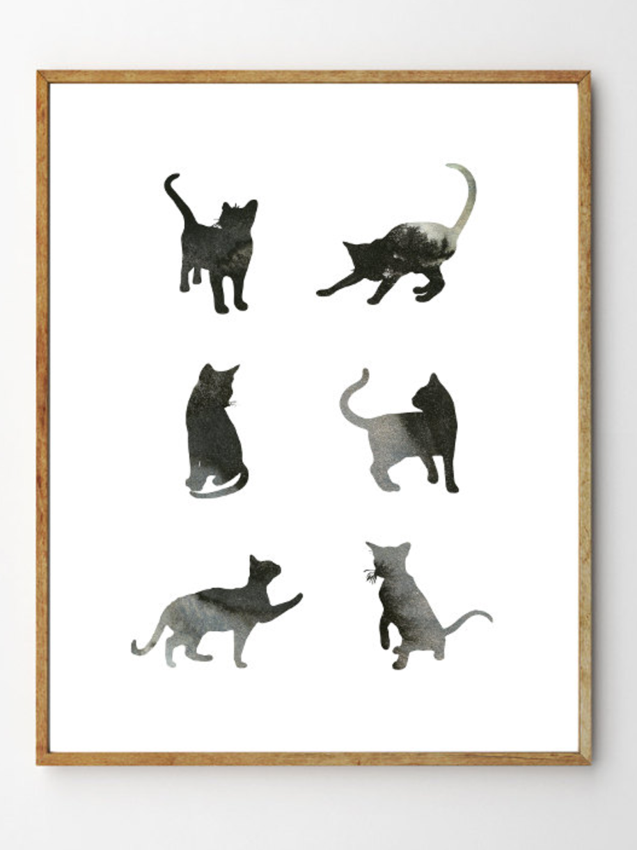 Six Cats - Stellaire Studio