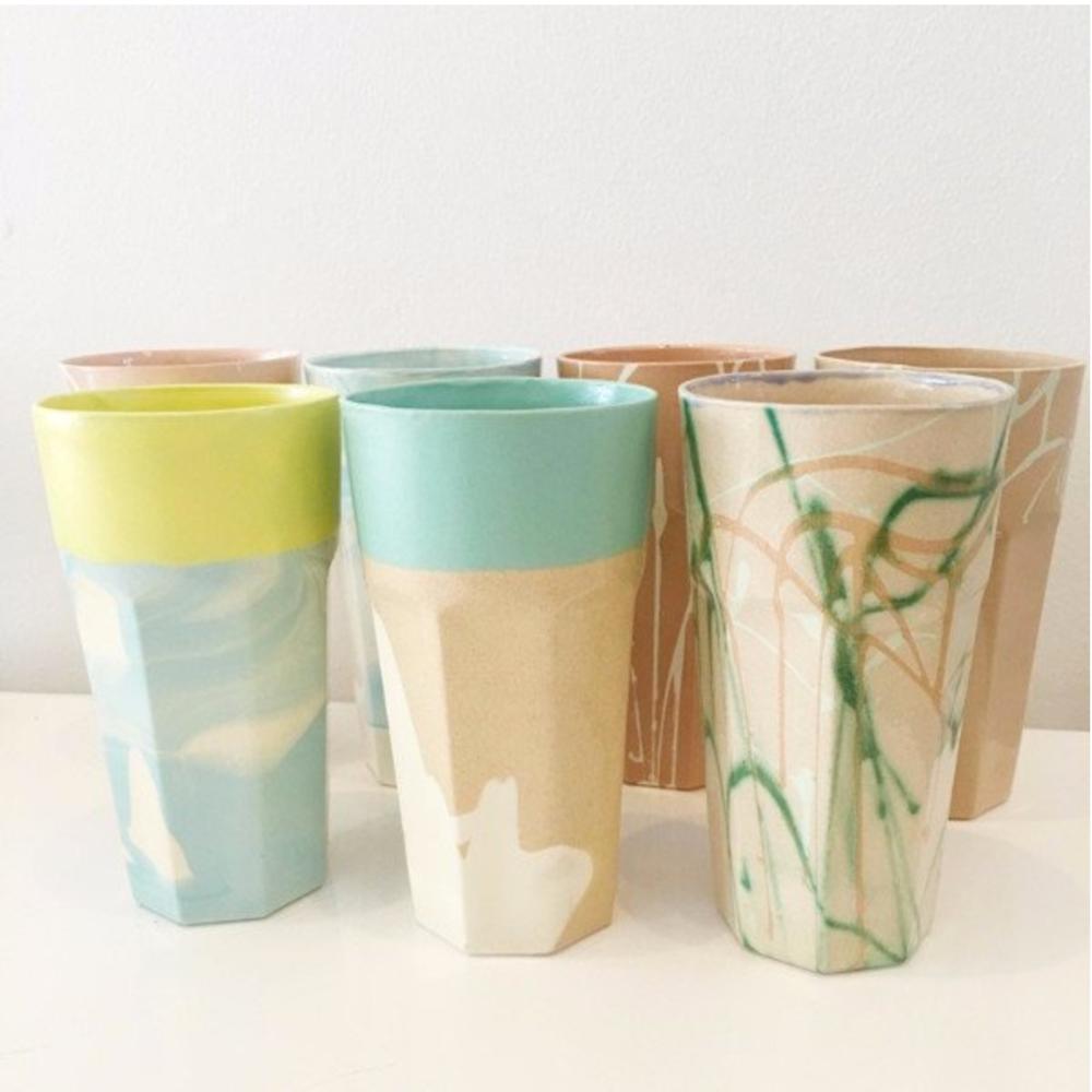 Porcelain Diner Tumbler by Em Gift