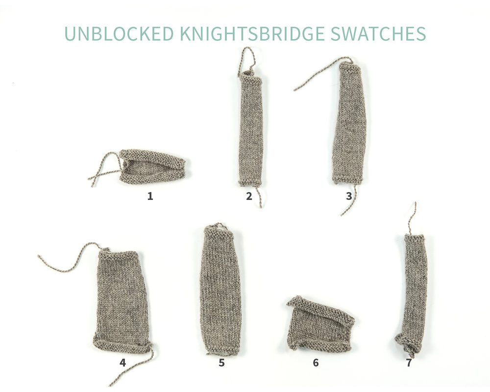 KW Swatch Experiment: The Fibre Co. Knightsbridge