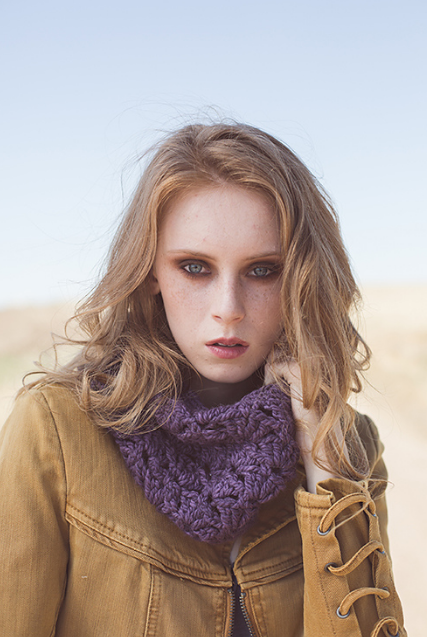 Lacuna Cowl by Courtney Kelley made with The Fibre Co. Tundra